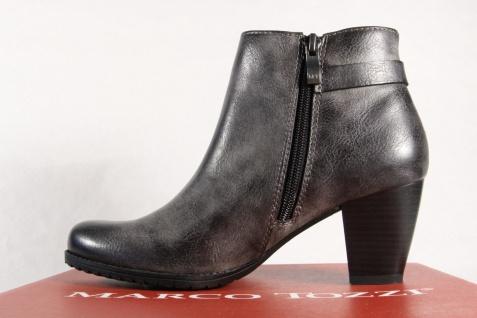 Marco Tozzi Stiefel Damen Stiefel Stiefeletten Schnürstiefel, Stiefel Tozzi grau 25051 NEU! 4e3330