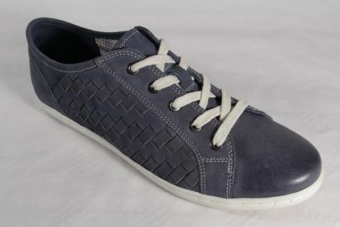 Marco Tozzi Schnürschuh Sneakers blau Halbschuhe Echtleder blau Sneakers NEU! 579af1