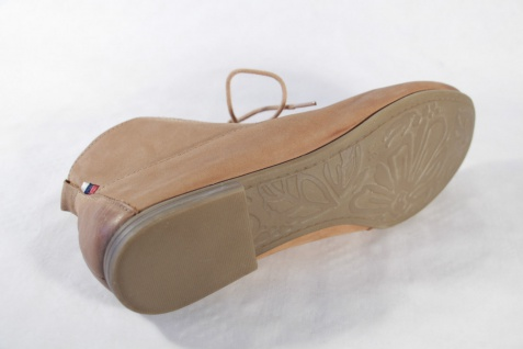 Marco Tozzi Damen Schnürschuh, braun, sehr weiches Leder, NEU!
