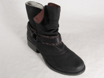 Rieker Stiefel Stiefel Stiefel Y9792 Stiefelette Stiefel, Winterstiefel schwarz NEU! 59692f