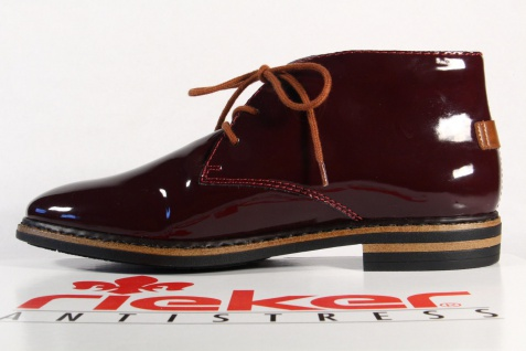 Rieker Halbschuhe, Damen Stiefel 50630 Stiefelette Halbschuhe, Rieker Sneaker bordo NEU! 624fb0