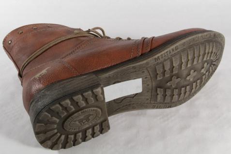 Mustang Stiefel, Stiefeletten, braun, Stiefel mit Reißverschluß, braun, Stiefeletten, gefüttert NEU 935887