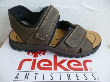 Rieker Sandale Sandalen Sandalette Sandaletten braun 25051 NEU