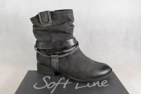 new style e063c 6b995 Soft Line by Jana Stiefel Stiefelette Boots Winterstiefel grau NEU