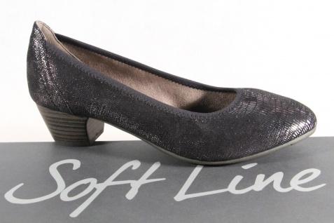 Soft Line Slipper by Jana Damen Pumps Slipper Line schwarz/ silber Weite H NEU! 4a9d6c