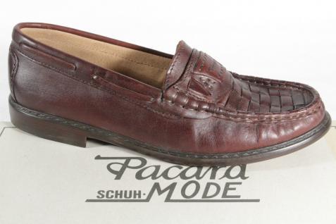 Pacard Beliebte Herren Slipper, Halbschuh braun, NEU! Beliebte Pacard Schuhe 7c8c08