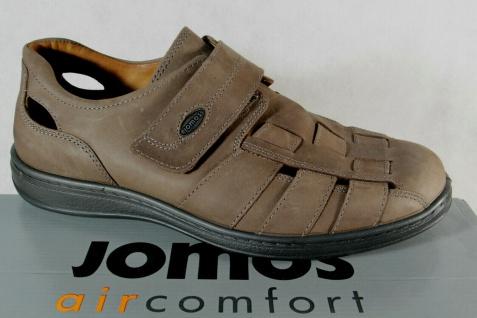 Jomos Slipper Halbschuhe Sneakers braun Echtleder 463201 NEU