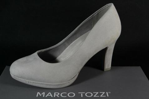Marco Tozzi Damen Pumps Ballerina Slipper grau NEU! - Vorschau 1