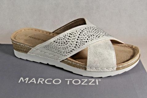 Marco Sandaletten Tozzi Damen Pantoletten Sandalen Sandaletten Marco weiß NEU! fe0f22