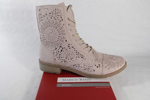 Marco Tozzi Stiefel Stiefelette Reißverschluß, beige, NEU