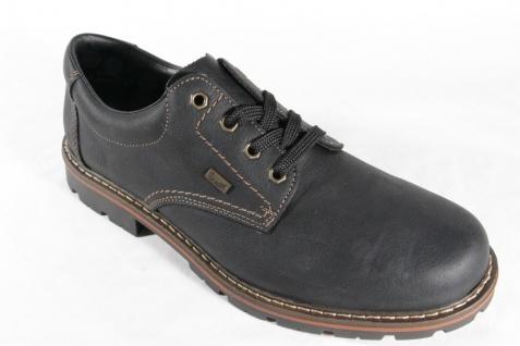 Rieker TEX Schnürschuhe NEU Sneakers Halbschuhe schwarz, wasserdicht NEU Schnürschuhe 7f35b6