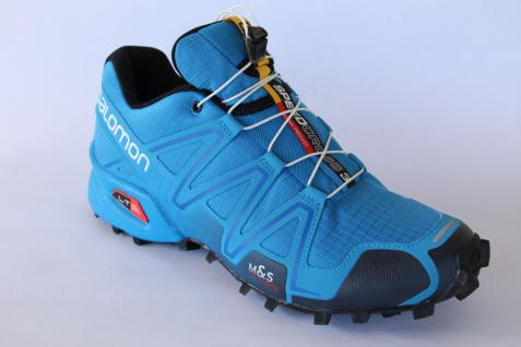 Salomon Sportschuhe Laufschuhe Halbschuhe Speedcross 3 blau Neu!