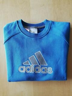Adidas Jungs Pulli Sweatshirt Sweater Pullover blau NEU