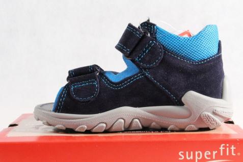 Superfit Jungen LL-Sandale Lederfußbett blau KV Lederfußbett LL-Sandale Neu !!! 7a4a63