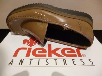 Rieker Slipper Ballerina braun Halbschuhe Sneaker weiche Lederinnensohle braun Ballerina NEU! b13d33