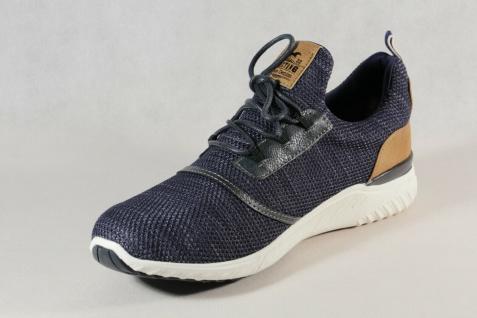 Mustang Slipper Schnürschuhe Sneakers Halbschuhe Sportschuhe blau 4132 NEU - Vorschau 5