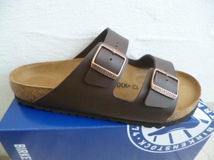 Birkenstock Arizona Pantolette Pantoletten Sandale Hausschuhe Braun 51701 NEU!