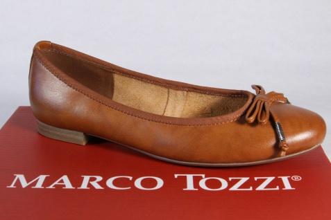 Marco Tozzi Ballerina Slipper Halbschuhe Pumps braun NEU!!