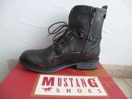 Mustang Stiefel NEU Stiefeletten Stiefel Winterstiefel dunkelgrau NEU Stiefel dae75c
