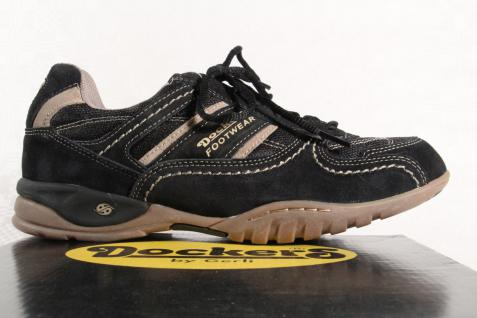 Dockers Herren Schnürschuhe Sneaker Sneaker Sneaker Echtleder schwarz NEU! Beliebte Schuhe 2e4f9a