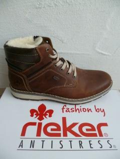 Rieker TEX Herren Stiefel Stiefelette Boots Winterstiefel braun 38423 NEU!