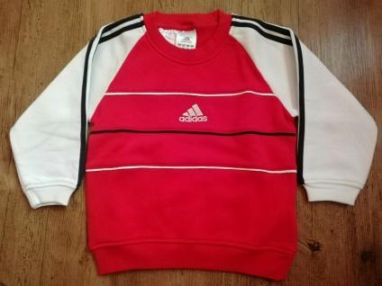 Adidas Jungen rot Sweatshirt Sweater Pullover Pulli Sport NEU - Vorschau 4