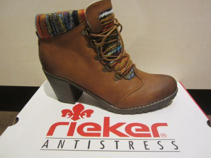 Rieker Stiefel, braun, kein Leder, 95323 warm gefüttert, NEU 95323 Leder, 608d13