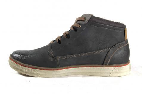 Mustang Stiefel Boots Schnürstiefel grau Stofffutter Schuhe Wechselfußbett 4068 NEU Beliebte Schuhe Stofffutter 1da855