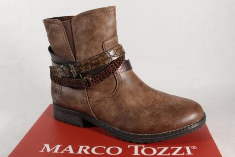 Marco Tozzi 46402 Damen Stiefel, Stiefelette, Boots braun NEU!