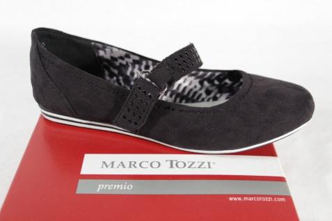 Marco Tozzi Ballerina Ballerina Tozzi Slipper schwarz NEU! 82db8b