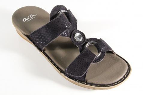 ara blau Damen Pantoletten Sandalen Sandaletten blau ara 27273 NEU! Beliebte Schuhe 660e49