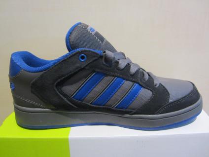 Adidas Schnürschuh Chualar grau/blau Leder/Synthetik Leder/Synthetik grau/blau NEU d01a40