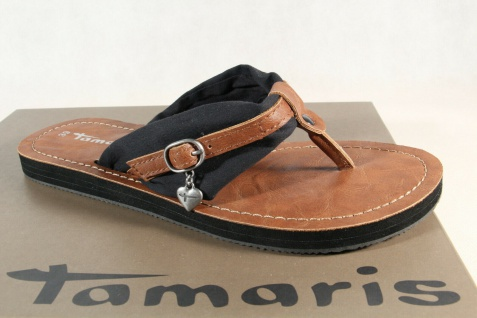 Damen Tamaris Zehenstegpantolette Sandale Pantolette 27109 NEU!