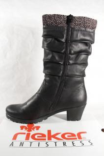 Rieker Y8080 Damen Stiefel Stiefel Stiefeletten Winterstiefel Stiefel Damen schwarz NEU! 678739