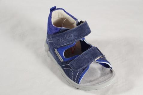 Superfit Knaben Lauflern Schuhe Sandalen Echtleder blau Neu - Vorschau 4