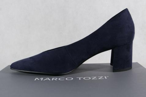 Marco Tozzi Damen Pumps Ballerina Slipper blau NEU! - Vorschau 3