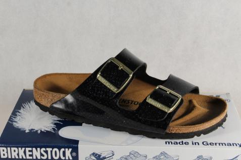 Birkenstock Pantolette Pantoletten Hausschuhe schwarz Pantoffel schwarz Hausschuhe NEU! 0db89b