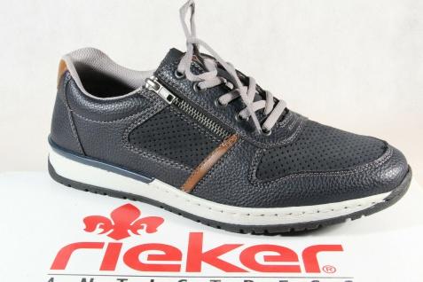 Rieker Halbschuhe Slipper Schnürschuhe Sneaker blau B5145 NEU!!