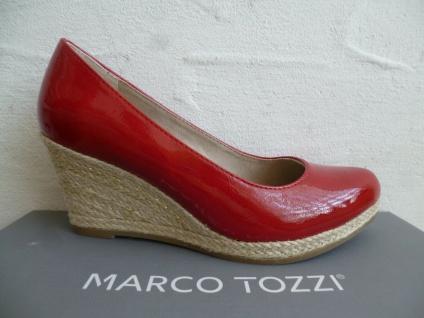 Marco Tozzi Pumps Ballerina Slipper rot Lack 22440 NEU!