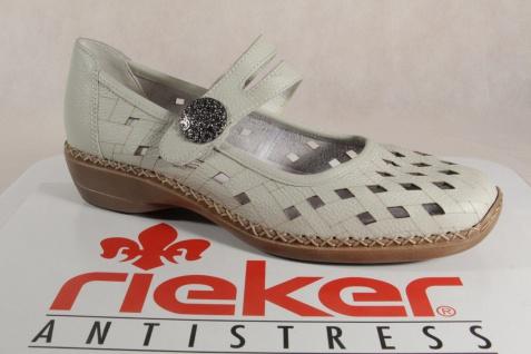 Rieker 41375 Slipper Ballerina Sneakers Halbschuhe Sportschuhe Ballerina Slipper beige NEU 01ac3d