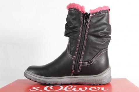 s.Oliver Tex Stiefel Stiefeletten Boots NEU! schwarz/pink 36420 NEU! Boots 11daa5