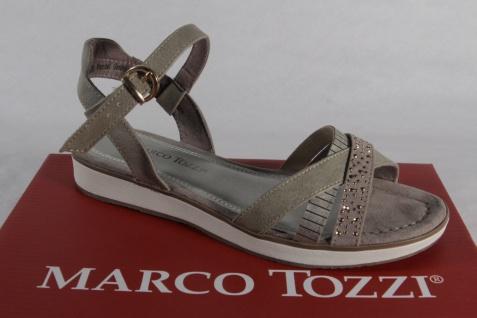 Marco Tozzi Mädchen Sandale Sandalen Sandalette Sandaletten beige NEU!!