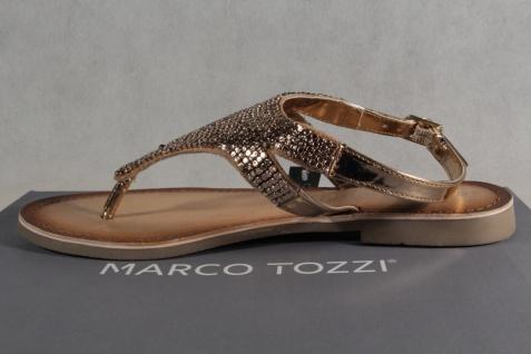 Marco Tozzi Zehenstegsandalen Sandaletten Sandale Sandalette Rosé NEU!! - Vorschau 3