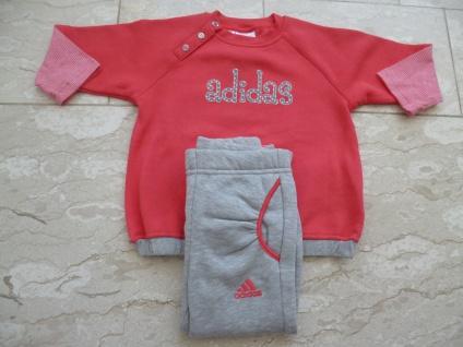 Adidas Jogger Jogginganzug Babyjogger Sweatshirt Sweathose rosa/pink NEU
