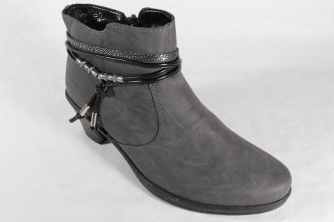 Rieker Stiefelette, Stiefel, Winterstiefel Winterstiefel Stiefel, grau, warm gefüttert 54953 NEU Beliebte Schuhe def9bb