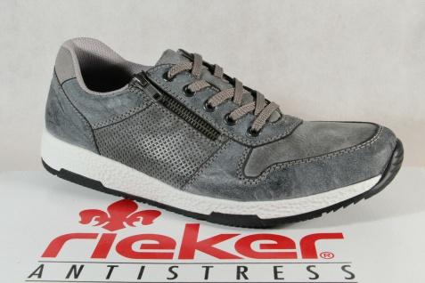 Rieker Halbschuhe Schnürschuhe Sneaker Sneakers Slipper grau B9421 NEU!!