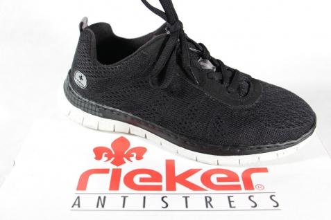 Rieker Damen L5140 Schnürschuhe Sneakers Halbschuhe schwarz L5140 Damen NEU! b42ab7