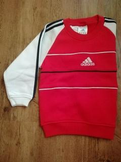 Adidas Jungen rot Sweatshirt Sweater Pullover Pulli Sport NEU - Vorschau 3