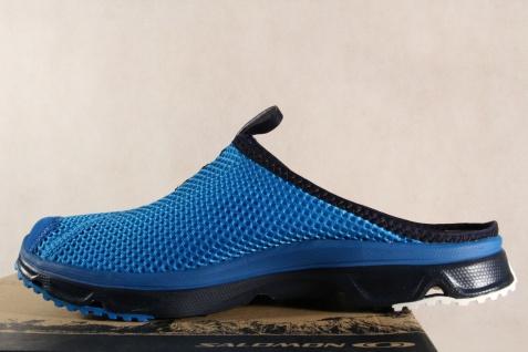 Salomon Lederinnenfußbett Clogs RX Slide, blau, Lederinnenfußbett Salomon 392443 NEU 2ce574