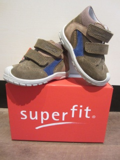 Superfit !!! LL-Stiefel fango/beige/blau KVLederfußbett Neu !!! Superfit db0c63